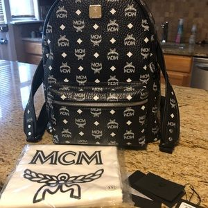 🔥AUTHENTIC🔥MCM Backpack!! Great Condition!